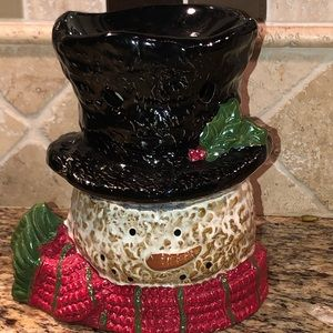 Yankee Candle Snowman Wax Melt Tart Warmer